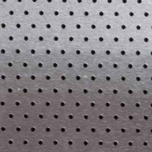 Silver Perforated