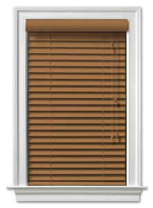 Blindcraft peacan pvc venetian blinds