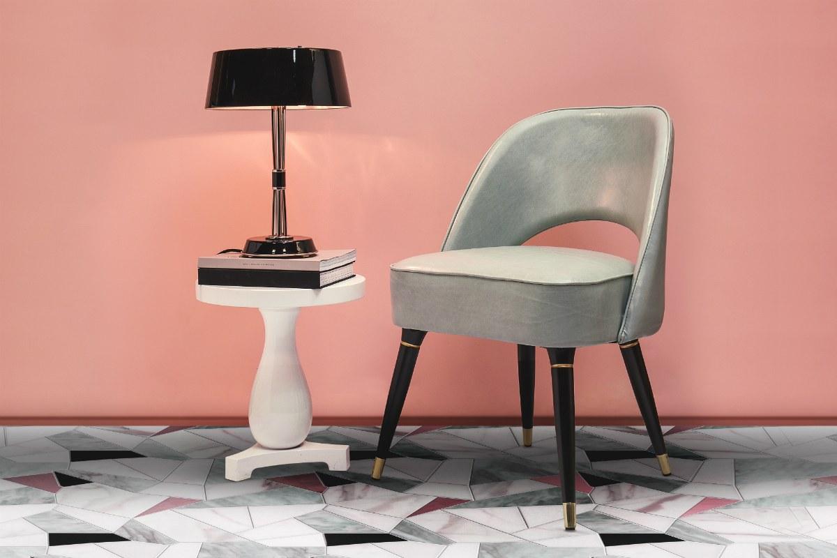 Millennial pink contrast home decor