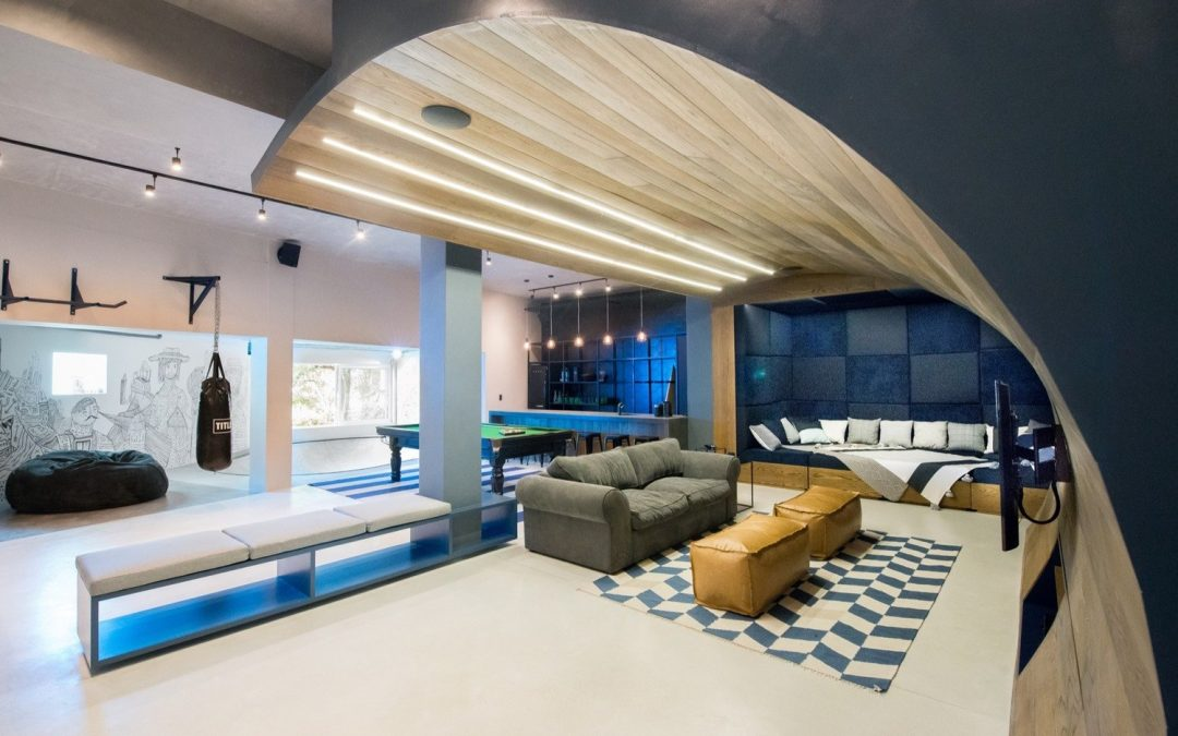 Cape Town's Ultimate Man Cave – Complete With Indoor Skate Park