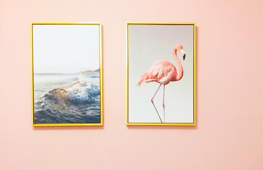 Flamingo decor trend